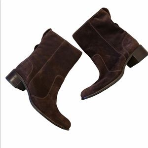 TIMBERLAND Brown Suede Bootie